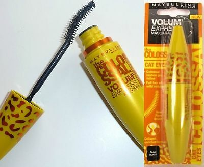 Maybelline Volum Express The Colossal Cat Eyes Mascara - Glam Black New