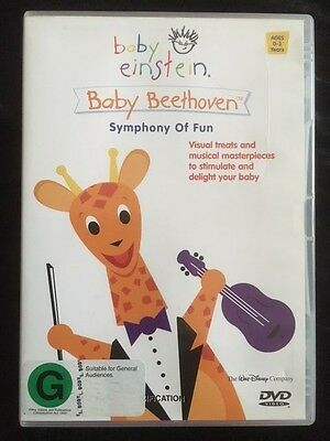 Baby Einstein Baby Beethoven - Symphony Of Fun - Dvd - Very Good Condition