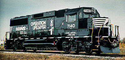 Norfolk Southern Operation Lifesaver Decals HO154