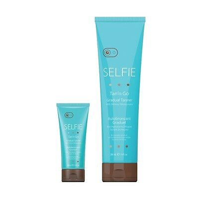 SELFIE Gradual Tanner with 24 Hour Moisturisers Sunless Fake Tan Self Tanning