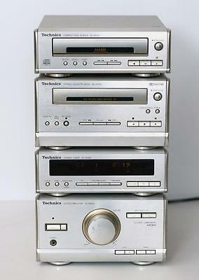 Technics HD301 Hi-Fi Component System with CD Player/Cassette/FM Tuner/Amplifier