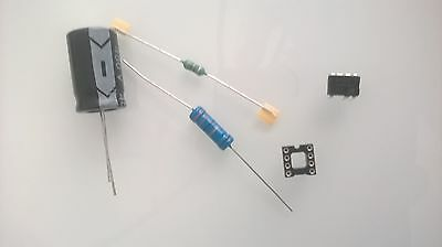 Kit LNK304PN + support + R020 (R47)+ L003 (L1)+ Cond. 22µF/450V