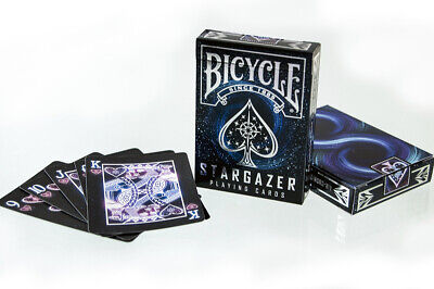 Bicycle Stargazer 1 New Deck of Poker Size Playing Cards RI Black Hole