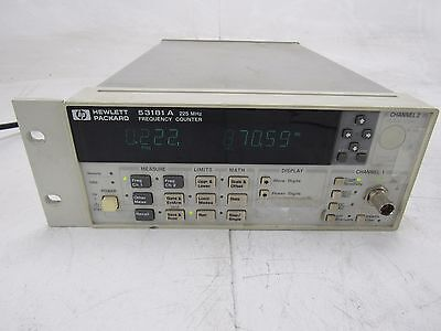 Keysight Agilent HP 53181A RF Frequency Counter 225 MHz No OPT Working