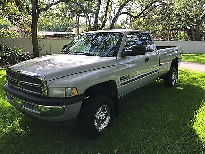 2001 Dodge Ram 2500 Extended pick up cab BANKS TURBO! 6 SPEED, 4 x 4!