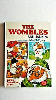 Wombles Annual 1976. World Distributors 1975. Vg condition, but priceclipped.