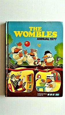 Wombles Annual 1977. World Distributors 1976. Vg condition, but priceclipped.