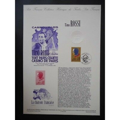 Document officiel - Tino ROSSI