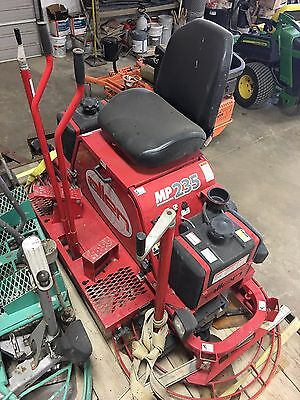 2015 Allen MP235 Ride-on Concrete Trowel Edger Machine 55 hrs