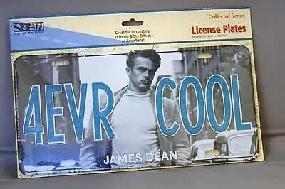 4Evr Cool - James Dean Collector Series License Plate