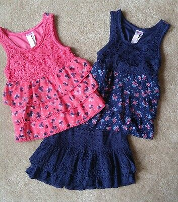 Justice girls size 8-10 back to school lot
