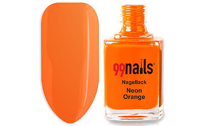 Nagellack - Neon Orange 12ml / Nagel Lack Farblack Nails ! Made in Germany !
