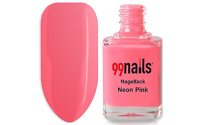 Nagellack - Neon Pink 12ml / Nagel Lack Farblack Nails ! Made in Germany !