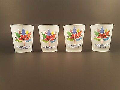 Canada 150 Collector Shot Glasses Free Shipping