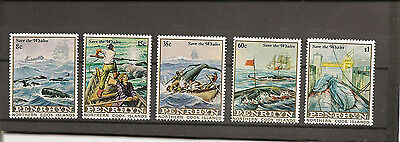 PENRHYN 1983  Whale Conservation unmounted mint