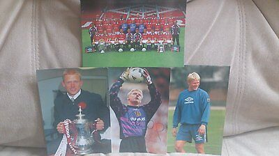 Man United/ Manchester Utd – Collectors Photos 1999 – Rare – Peter Schmeichel