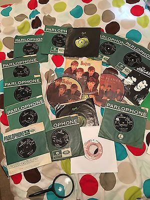 "Joblot Of 20 Different Beatles 7"" Singles 60s"