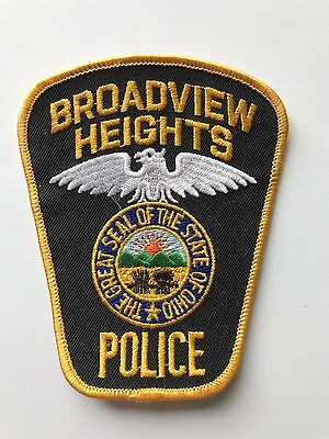 Broadview Heights POLICE Ohio Polizei Patch