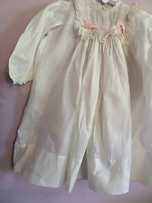 Antique ViNTAGE Christening Gown Long Baby Dress 21 LONG CLOTHES  lot 2