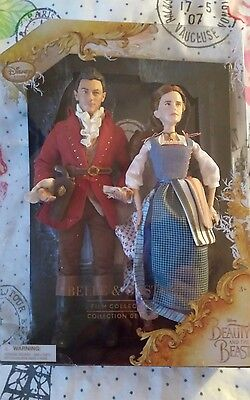Disney Belle & Gaston Film Collection Doll Set Beauty and the Beast Live 2017