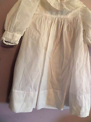 Antique ViNTAGE Christening Gown  Long Baby Dress 19 1/2  LONG CLOTHES lot 4