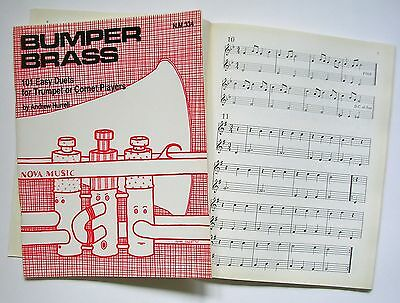 101 Easy Duets for Trumpet or Cornet (Bumper Brass) two copies