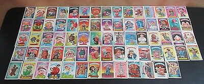 73 Vintage 1986 Topps Garbage Pail Kids Cards Rare Cards In Great Condition Card