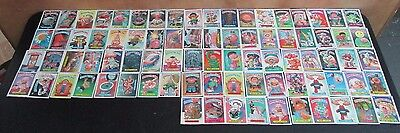 82 Vintage 1987 Topps Garbage Pail Kids Cards Rare Cards In Great Condition