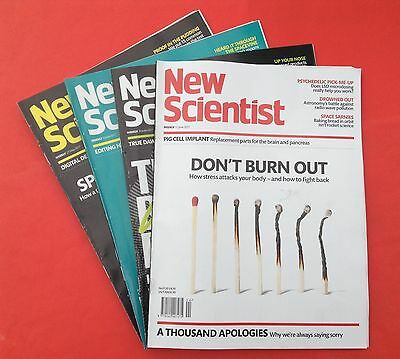 4 New Scientist Magazine Recent Issues 27 May, 3, 10, 17 June 2017  #102