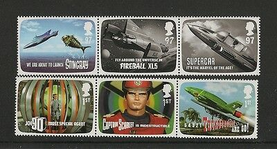 2011 MNH Stamp Set: The Genius of Gerry Anderson