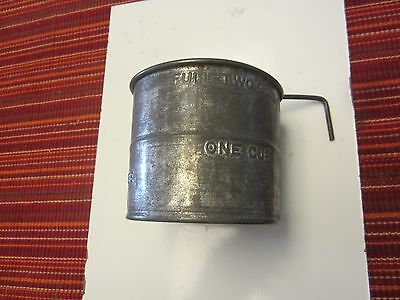 vintage natwire two cup sifter