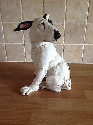 Country Artists Breed Apart Large Bull Terrier Figure