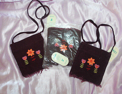 Joblot of 3 BNWT Mothercare Girl's burgundy bag, £5 each new, great for resale
