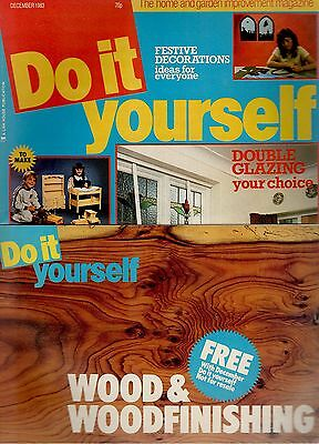 1983 december 24524 do it yourself magazine double glazing your choice picclick uk. Black Bedroom Furniture Sets. Home Design Ideas