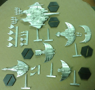 Babylon 5 Wars/ACTA set of Centauri Republic miniatures (Primus included)