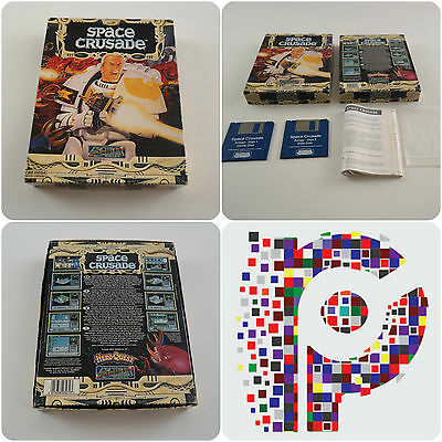Space Crusade A Gremlin Game for the Commodore Amiga Computer tested & working