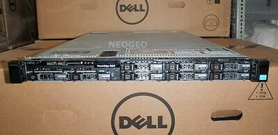 Dell Poweredge R620 Server-2x Xeon E5-2690 Eight Core 2.9GHz-128GB-4x146GB-4x1TB
