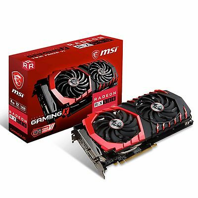 Msi Radeon Rx 580 Gaming X 4G Graphic Card Ethereum Mining