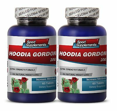 Appetite Suppressant - Hoodia Gordonii 2000mg  - Healthy Weight Loss 2B