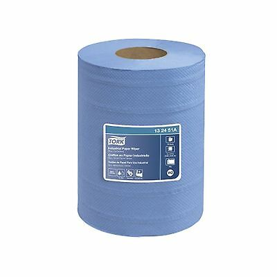 Tork 132451A Industrial Centerfeed 4-Ply Paper Wiper Blue New