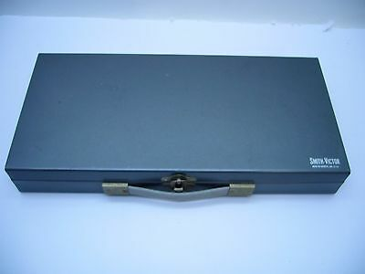 Smith-Victor Metal 35mm slide case storage box VTG 150 slides case