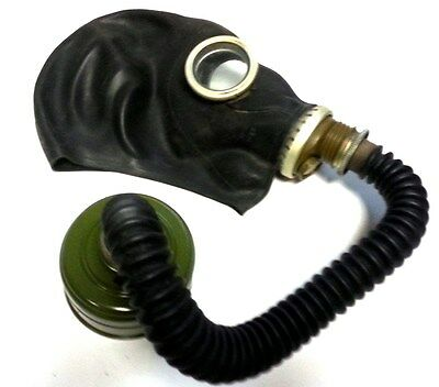 Gas Mask GP-5 with filter & hose BLACK Soviet Russian NEW Vintage FUNY GIFT USSR