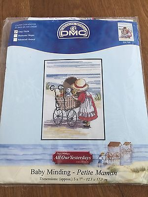 DMC All Our Yesterdays - 'BABY MINDING' - Counted Cross Stitch Kit -