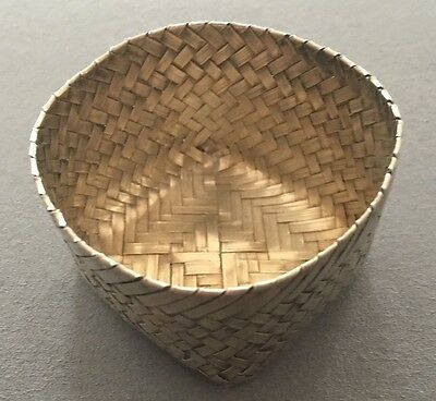 rare Tiffany & Co. TAXCO woven basket by Tane (sterling silver)
