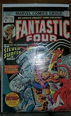 Fantastic Four #155 SIGNED RICH BUCKLER