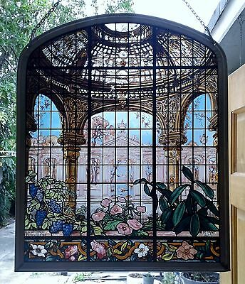 Henry G Marquand House Conservatory Eugene Stanislas Oudinot Stained Glass Panel