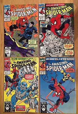 Amazing Spider-man # 349 - 352 (4 Comics)