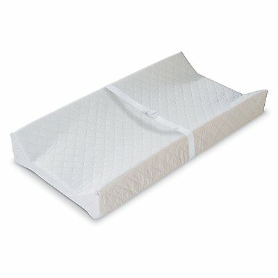 Baby Changing Table Pad Contoured Diaper Change Cushion Nursery New