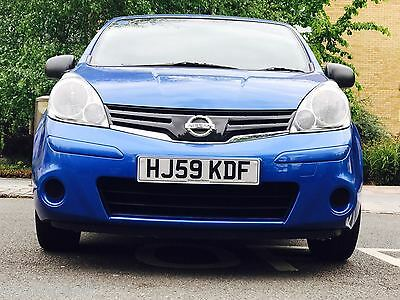 2009 NISSAN NOTE VISIA AUTO BLUE FULL HISTORY ONLY 56K 2 OWNERS MPV - AA Assured