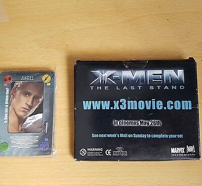 X-Men Battle Cards. The Last Stand. Free With The Daily Mail. 2006.